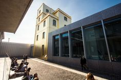 The #architecture of the #Prada Foundation in #Milan, designed by OMA - Rem #Koolhaas