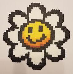 Yoshi's Island Flower Perler by ESVLBDesigns on Etsy https://www.etsy.com/listing/485897254/yoshis-island-flower-perler