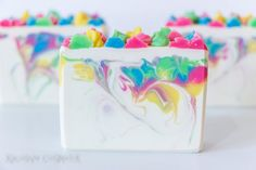 Spring Blossoms Bar Soap  Handmade Soap  by XplosiveCosmetiX