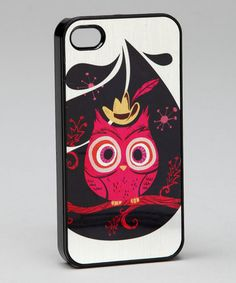 Take a look at this Owl iPhone 4 Cover by Crowsmack on #zulily today!