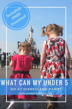 It's almost 3 months until we zoom off to Disneyland Paris and I can't wait. I often get asked what can under do at Disneyland Paris and usually I will just direct people to… Disney Parks, Disney Resorts, Disney Tips, Disney Vacations, Disney Travel, Disney Land, Disney Ideas, Walt Disney, Toddler Travel