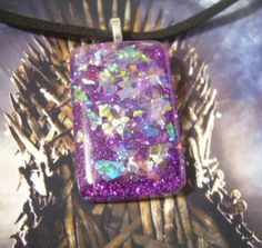 Purple Wedding Game of Thrones Faux Dichroic by ATouchOfNightshade