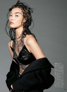 """The Power is Hair"" Vogue Beauty Japan April 2014"
