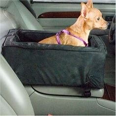 """Made With Elegant Micro Suede - Let your Pet Ride in Style and Comfort! Features: - 7"""" H X 12"""" W X 19"""" L - Pets up to 12 pounds - Zipper removable micro suede cover - Connection strap included for the"""