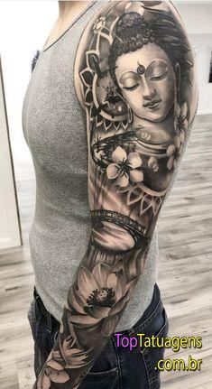 Super tattoo antebrazo hombre oriental ideas - Super tattoo antebrazo hombre oriental ideas You are in the right place about Super tatt - Tattoos 3d, Asian Tattoos, Funny Tattoos, Trendy Tattoos, Forearm Tattoos, Unique Tattoos, Cool Tattoos, Tatoos, Buddha Tattoos