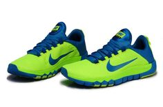 Nike Free Trainer 5.0 NKG Running Shoes Bling Green ,looks unreal!