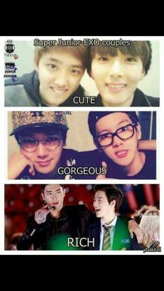 SUJU and EXO couples OuO