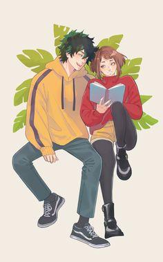 Midoriya Izuku & Uraraka Ochako