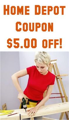 Time to save on your purchase at Home Depot. This is a rare coupon for them. Save $5 off when you spend $50 or more. Grab this coupon using the direct link below. Find a store near you this week to save. Home Depot $5 Off Coupon Expires March 17, Sponsored Links.