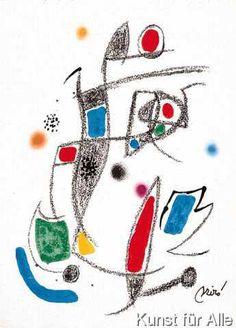 Joan Miró - Maravillas 10 steinsig.