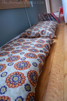 How to Make Floor Pillows |The Domestic Domicile