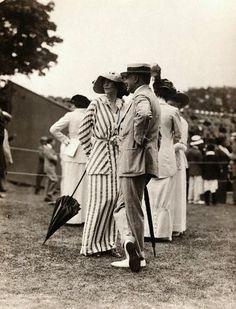 Tennis match in Newport, Rhode Island. August 8, 1913.