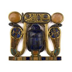Pectoral with Scarab Identified with God Khepri