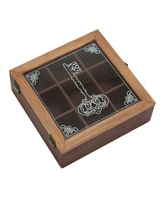 Wood Key Box by UMA Enterprises on #zulily