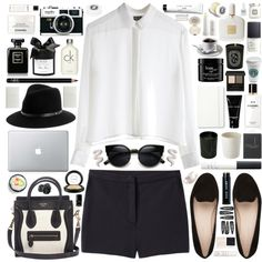 """""""Black And White"""" by missad3 on Polyvore"""