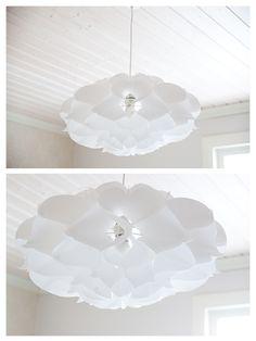 white paper lamp, www.asuntoeblogi/blogspot.com #Phrena #white #lamp