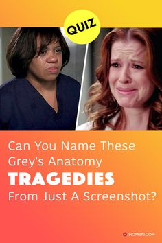How well do you really know the tragedies of Grey's Anatomy? Can you identify them from just a screenshot? Take this quiz to find out! #greys #GreysAnatomy #greysquiz #greysnostalgia #greysAnatomyTrivia #greysdepartures #mirandabailey #greystragedies #greysdeath #greysanatomyscene