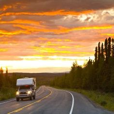 road tripping Canada's Northwest territories <3 I have to do this!