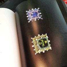 from the JAR Paris book so few of us have seen- Jewelfinder was kind enough to post some pictures of the open book on Instagram... and I felt like I had hit jackpot when I saw them!!! Wonderful jewels by Joel Arthur Rosenthal!!!