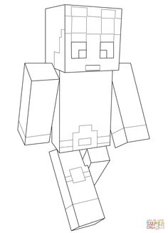 minecraft dantdm coloring pages printable and coloring book to print for free find more coloring pages online for kids and adults of minecraft dantdm