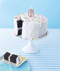 Simple tricks to cut and dish out these birthday party treats quickly.