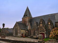 La Collégiale de Rochefort-en-Terre, en Bretagne, en France