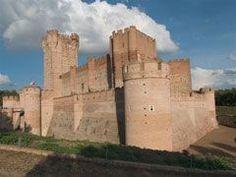 El Castillo de la Mota, en Medina del Campo (Valladolid),