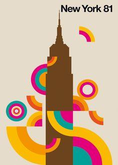 New York 81 by Bo Lundberg