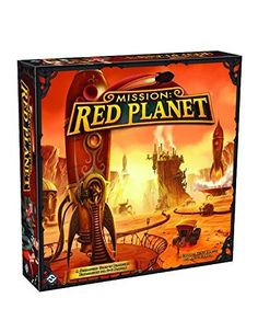 Mission: Red Planet Board Game | Played once and loved it much however the 4 piece puzzle type board makes me very upset since it may be really easy to distroy after several plays.