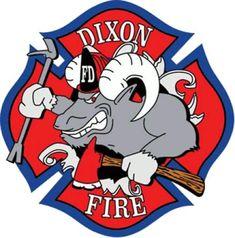 Dixon Fire Department Logo