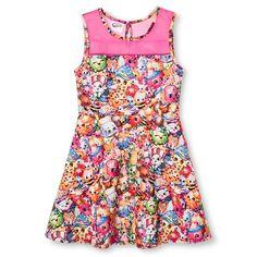 Girls' Shopkins Dress - Multi-Colored : Target