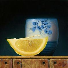 Lemon Slice Japanese Teacup