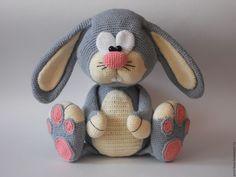 Bunny Soft Toy, Amigurumi Bunny Rabbit, Cute Amigurumi, Kawaii Amigurumi - My CMS Baby Afghan Crochet, Easter Crochet, Crochet Baby Hats, Crochet Patterns Amigurumi, Amigurumi Doll, Crochet Dolls, Easy Knitting Projects, Crochet Projects, Crochet Ideas
