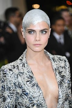 Met Gala 2017: Cara Delevingne Is The Robot Girl of Our Dreams in Chanel Couture | Tom + Lorenzo