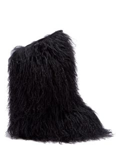 dacbefef9df Love this by Saint Laurent Boots   ModeSens  ModeSens  Shearling And  Leather Knee.