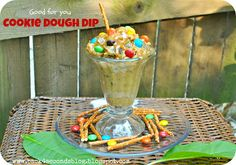 Good For You Cookie Dough Dip