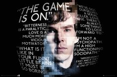 Sherlock Sherlock Holmes Quotes - Official Poster