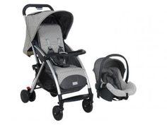 Conjunto Estilo Carrinho de Bebê e Cadeira p/Auto - Burigotto IXCJ5042PR49 para Crianças até 15Kg