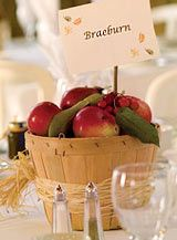 Autumn Inspired Elements For Your Fall Wedding Winter DecorationsApple