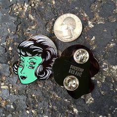 Minty Mistress -- Enamel Pin · burritobreath · Online Store Powered by Storenvy