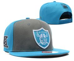 Oakland Raiders Snapback New Era 9FIFTY Blue Grey 7437|only US$8.90