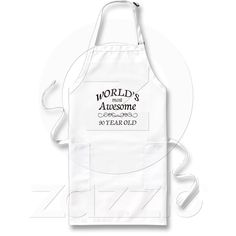 db0ee6ae9b6 World s Most Awesome 90 Year Old Birthday Aprin from Zazzle.com Grill  Apron