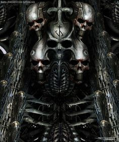 h r giger art - Google Search