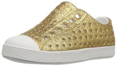 metallic shoes for kids   gold (or silver) sparkly Jeffersons from Native