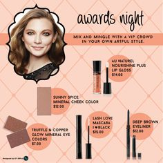 Mary Kay Looks... #marykay Awards Night... https://www.marykay.com/serranoAG https://www.facebook.com/GailSerranoMaryKay...