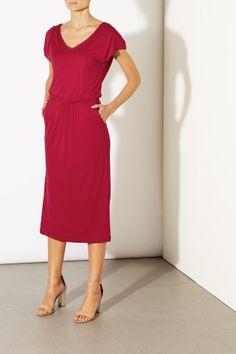 Elsie V-Neck Dress, £65.00