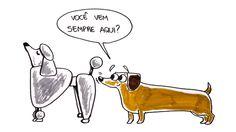 Já parou para reparar que TODA vez os cachorros se encontram eles logo vão cheirando o traseiro um do outro? Pode parecer