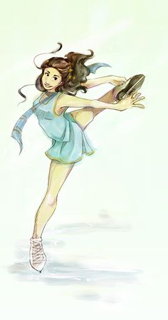 ice witch skater girl by shorelle.deviantart.com on @DeviantArt