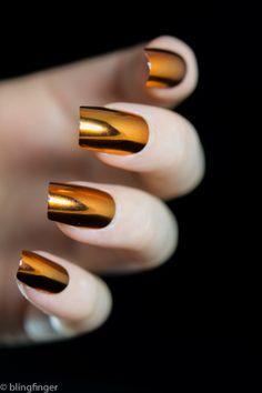 Metallic Nail Tips