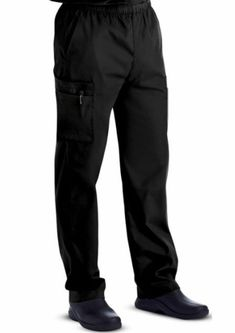 d8272044e99 Landau Men's Cargo Scrub Pant Black 8555 Large - NWOT - Free Shipping # fashion #